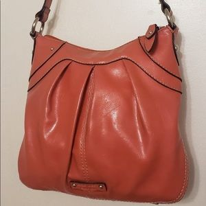 Nine West Orangey Peach Shoulder Bag